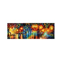 ARTİKEL Romantic Nights 3 Parça Kanvas Tablo 40X120 Cm KS-766
