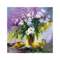 ARTİKEL More Flowers 4 Parça Kanvas Tablo 70x70 cm KS-401