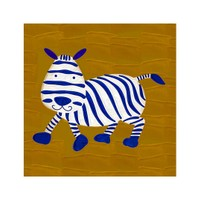 ARTİKEL Cartoon Zebra 4 Parça Kanvas Tablo 70x70 cm KS-227
