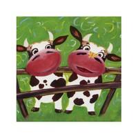 ARTİKEL Cows 4 Parça Kanvas Tablo 70x70 cm KS-245