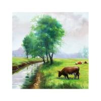 ARTİKEL Jolene 4 Parça Kanvas Tablo 70x70 cm KS-249