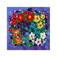 ARTİKEL Get Ready 4 Parça Kanvas Tablo 70x70 cm KS-936