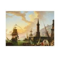 ARTİKEL Claude Joseph Vernet - A Seaport 50x70 cm KS-1435
