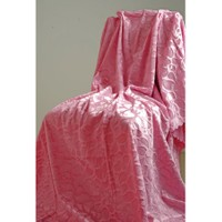Special Home Special Home Tay Tüyü Koltuk Örtüsü / Şalı - 14 Farklı Renk Seçeneğiyle   Gül Kurusu