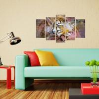 Özgül Grup Dekoratif 5 Parçalı Mdf Tablo