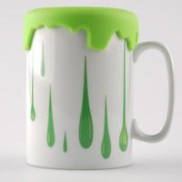 Kütahya Porselen Slikon Yeşil Kapaklı Mug Bardak