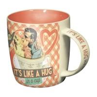 Nostalgic Art Tea It's Like A Hug in a Cup Kupa