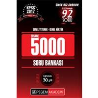 Pegem Yayınları Kpss 2017 Genel Kültür Genel Yetenek Efsane 5000 Soru Bankası