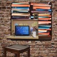 Gekkofix Yapışkanlı Folyo Book Stack