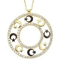 Bilezikhane Ay Yıldız Kolye 3,60 Gram 14 Ayar Altın