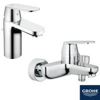 Grohe Eurocosmo Lavabo + Banyo Bataryası Seti