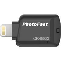 PhotoFast CR-8800 iOS MikroSD Kart Okuyucu - Siyah (iPhone, iPad, iPod) - BPF-CR8800BK