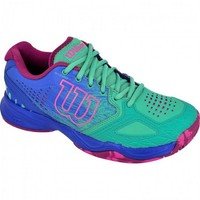 Wilson Kaos Comp Green-Blue-Pink