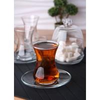 Lav Başak 6'Lı Çay Seti-Şekerlik Hediyeli