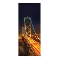 Artikel Işıklı Köprü Buzdolabı Sticker Bs-38