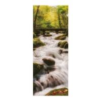Artikel Ormanda Şelale Buzdolabı Sticker Bs-036