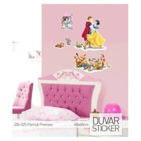 Artikel Disney Pamuk Prenses Ve Yedi Cüceler Duvar Sticker 68 x 48 cm Ds-025