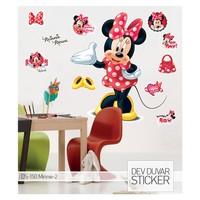 Artikel Minnie-2 Dev Duvar Sticker