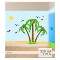 Artikel Palmiye Dev Duvar Sticker