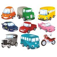 Dekorjinal Çocuk Odası Duvar Sticker Arabalar - Kcs57