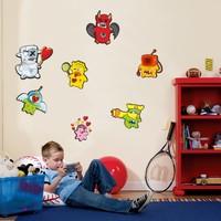 Dekorjinal Çocuk Odası Duvar Sticker Dck72