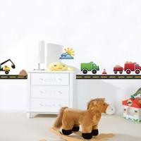 Dekorjinal Çocuk Odası Duvar Sticker Dck32