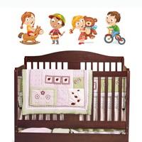 Dekorjinal Çocuk Odası Duvar Sticker Dck68