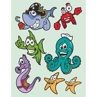 Dekorjinal Çocuk Odası Sticker Kcs24
