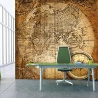 Artmodel Old Map Poster Duvar Kağıdı Pdb-34