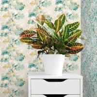 Mot Çiçekli Duvar Kağıdı 10-005502