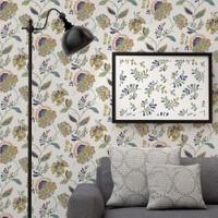 Mot Çiçekli Duvar Kağıdı 10-007603
