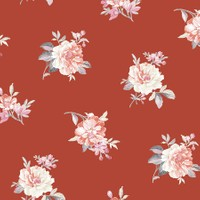 Mot Çiçekli Duvar Kağıdı 10-004702