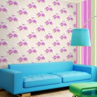 Mot Çiçekli Duvar Kağıdı 10-005801