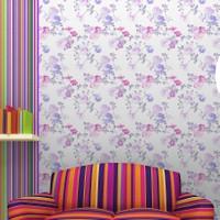 Mot Çiçekli Duvar Kağıdı 10-007301