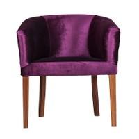 3A Mobilya Fosforlu Purple Berjer - Mor