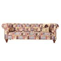 3A Mobilya Classic Patch Chesterfield - Desen