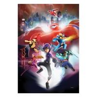 Artikel 6 Süper Kahraman 50 x 70 cm Kanvas Tablo