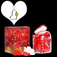 Chavin Kalp Kolye ve Seni Seviyorum Çünkü Aşk Mesajları 365 adet