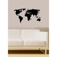 Özgül Grup Özgül Grup Dünya Haritası Duvar Sticker   48x25 cm