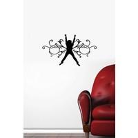 Özgül Grup Özgül Grup İnsan ve Desenler Duvar Sticker | 48x28 cm