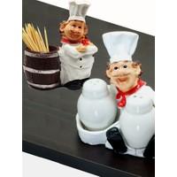 İmaj Aşçı Tuzluk Set+Kürdanlık