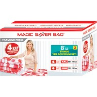 "Magic Saver Bag 8 li ""Evimde Yer Açıyorum"" Seti - 2 li"