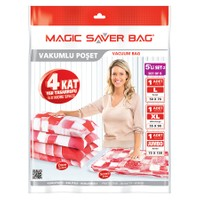 Magic Saver Bag 5 Li Bagaj Seti - 2