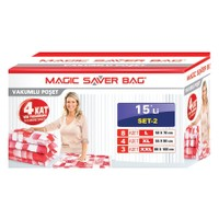 """Magic Saver Bag 15 Li """"Üniversiteye Başlıyorum"""" Seti -2"""