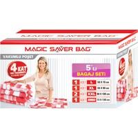 Magic Saver Bag 5 li Bagaj Seti