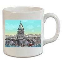 XukX Kupa Galata Kulesi Kupa