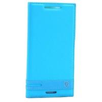 Teleplus HTC Desire 830 Mıknatıslı Lux Kapaklı Kılıf Mavi