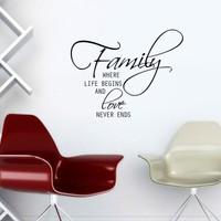 Özgül Grup Özgül Grup Family Duvar Sticker KBS-146 | 46x36