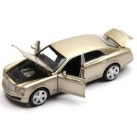 Vardem Bentley 1:32 Altın Rengi Çek Bırak Metal Araba (Sesli Işıklı)