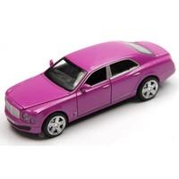 Vardem Bentley 1:32 Pembe Çek Bırak Metal Araba (Sesli Işıklı)
